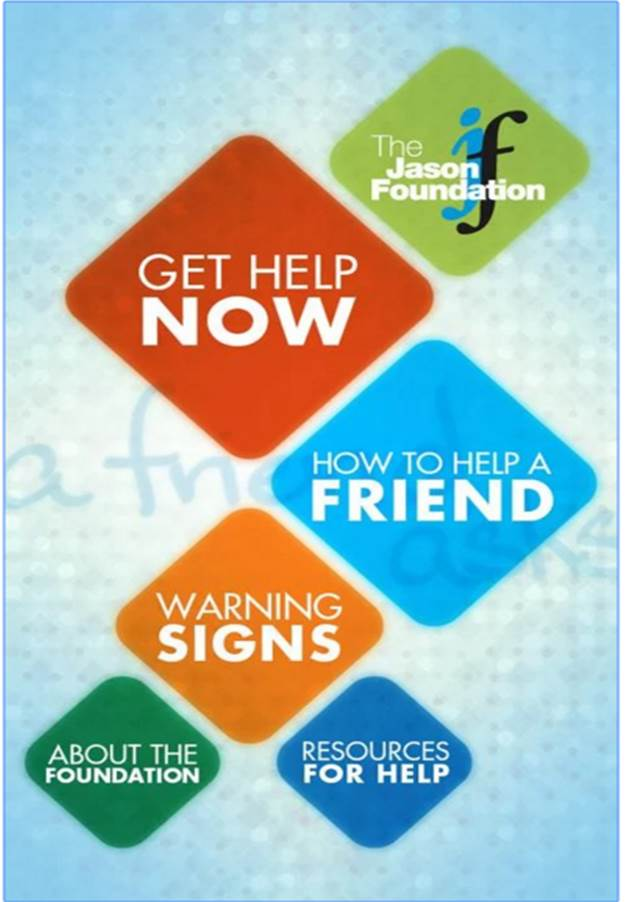 A Friend Asks - Jason Foundation app