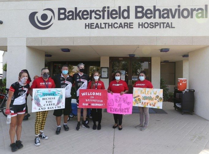 Run4Recovery at Bakersfield Behavioral Healthcare Hospital - 102120